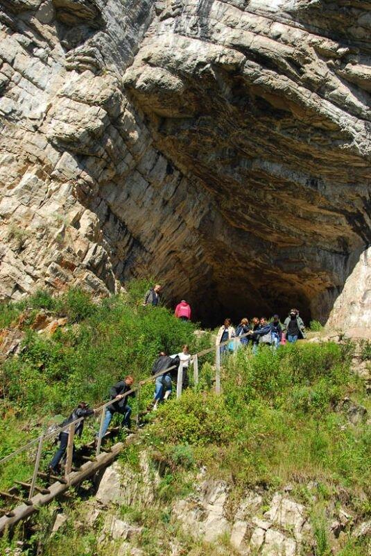 Игнатьевская - сама посещаемая пещера (05.07.2013)