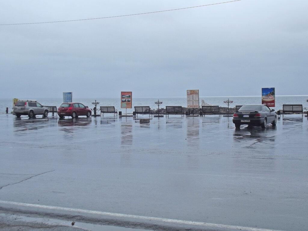 Листвянка, Байкал