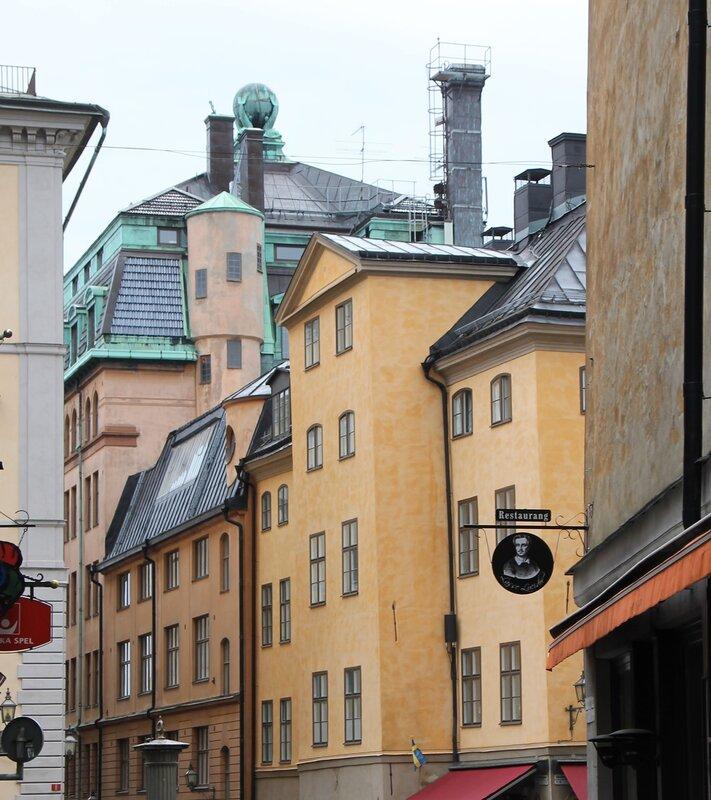 Järntorget Стокгольм, Железная площадь. Ернторгет