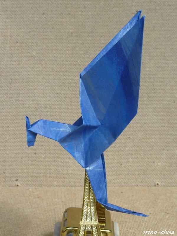 начале увлечения оригами.