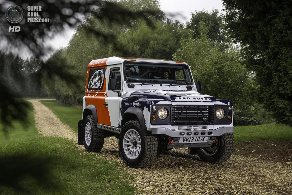 На основе Land Rover Defender появится раллийный кубок (17 фото)