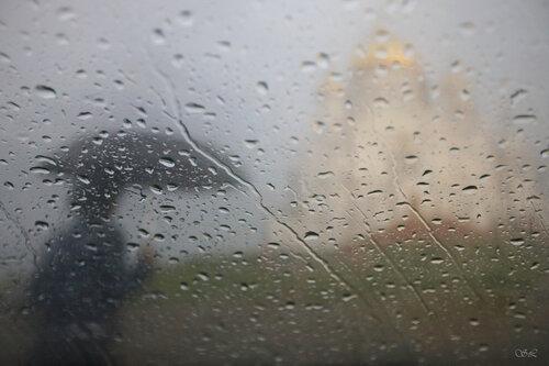 Cars,distortion,paint,rain
