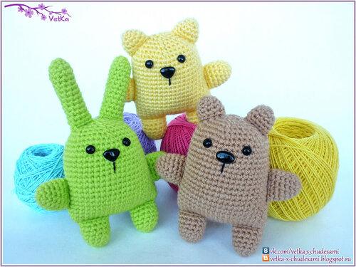 Вязание крючком для начинающих игрушки легкие