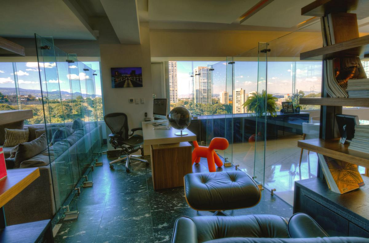 Craft Arquitectos, P-901, дизайн интерьера квартиры, роскошный интерьер квартиры, квартира в Мехико фото, дорогой интерьер квартиры, лучшие интерьеры