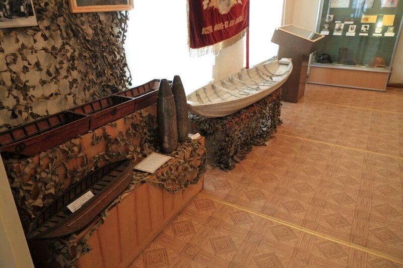 Городецкий краеведческий музей; экспозиция, посвященная Великой отечественной войне
