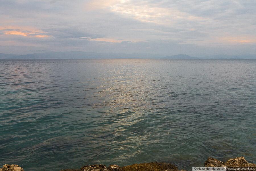Пасмурное утро в Беницесе