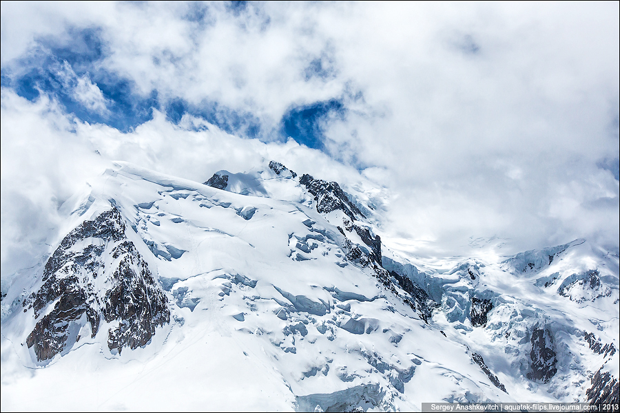 лавина снега фото