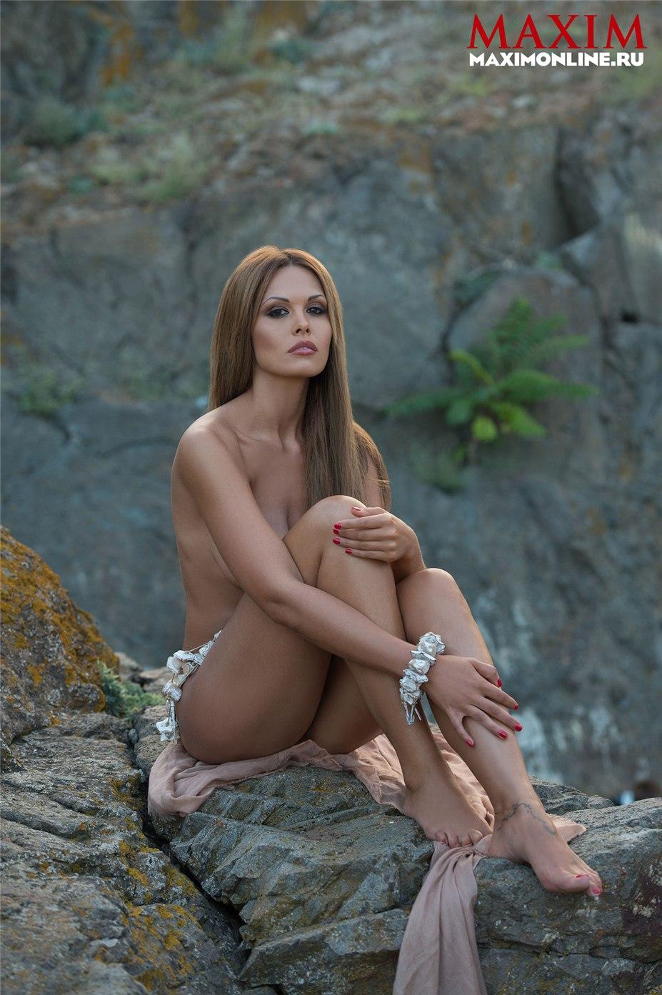 голая Мария Горбань в журнале Maxim Россия/Украина, ноябрь 2013