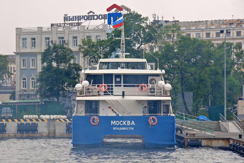 """Катамаран """"Москва"""""""