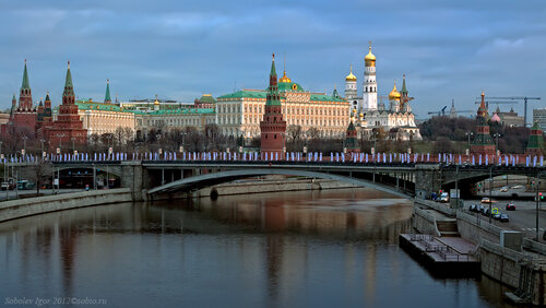 Утренний кремль