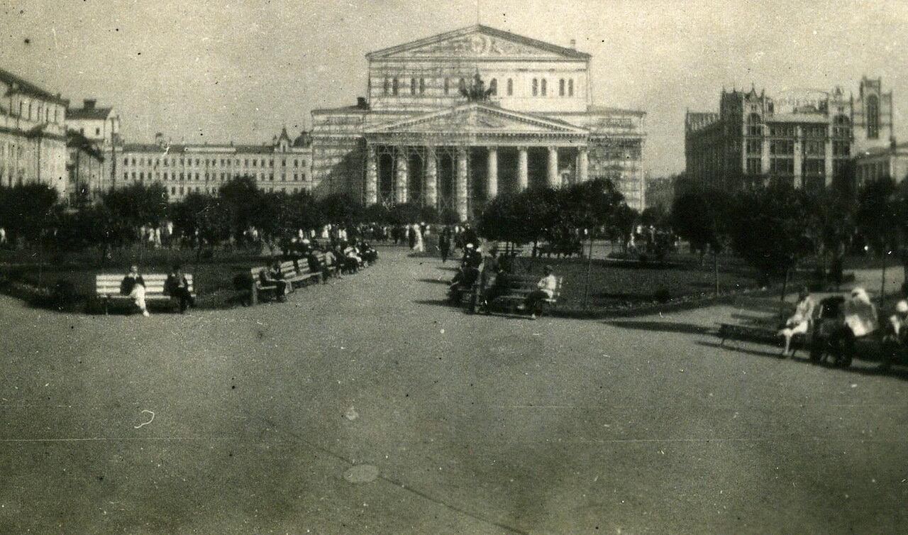 Москва, июнь 1932