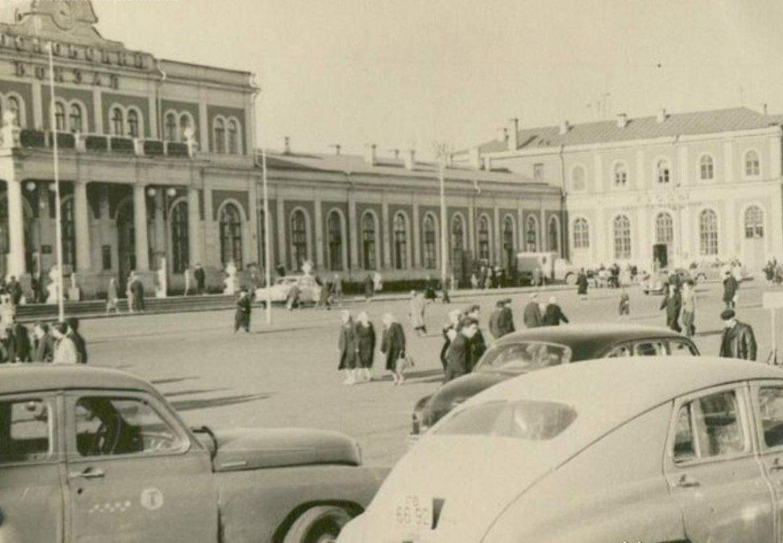 1952. Московский вокзал