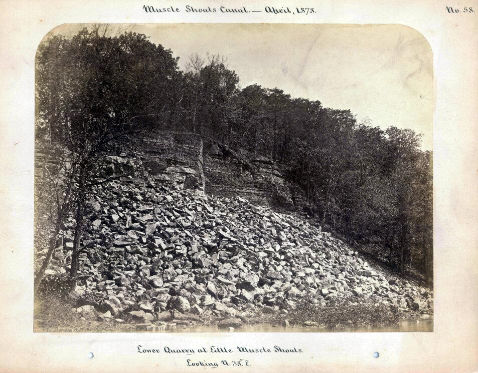 1878.  Канал Масл-Шоалз