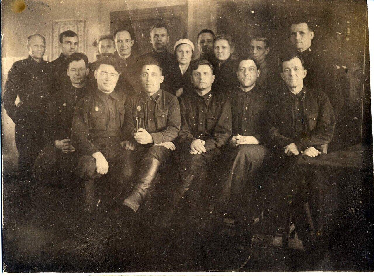 1940. Комсостав. Сибирь