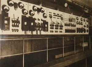 Распредительный щит ГЭС