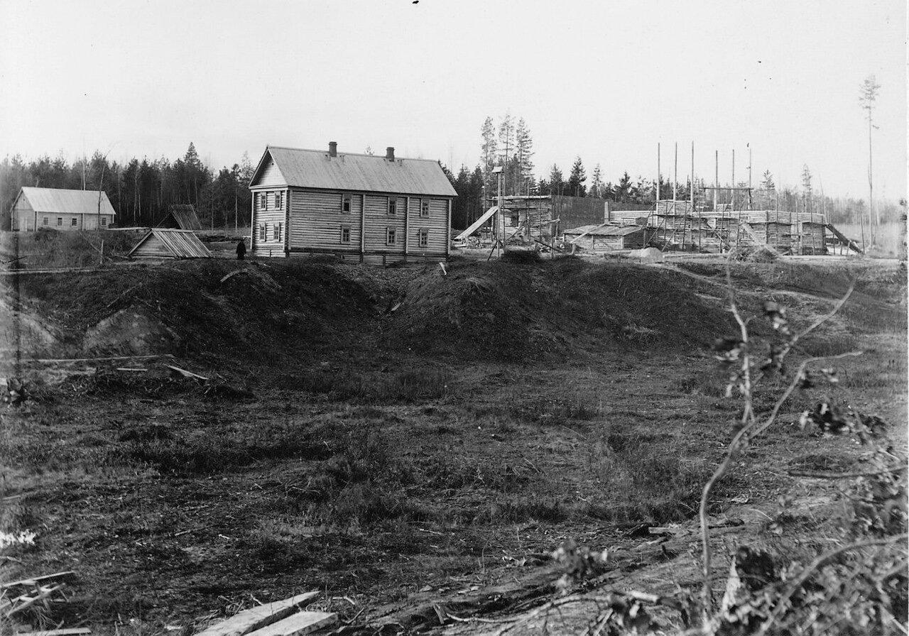 Строительство плотины
