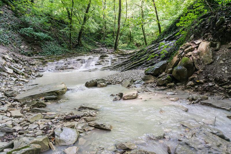 Водопады Пшады