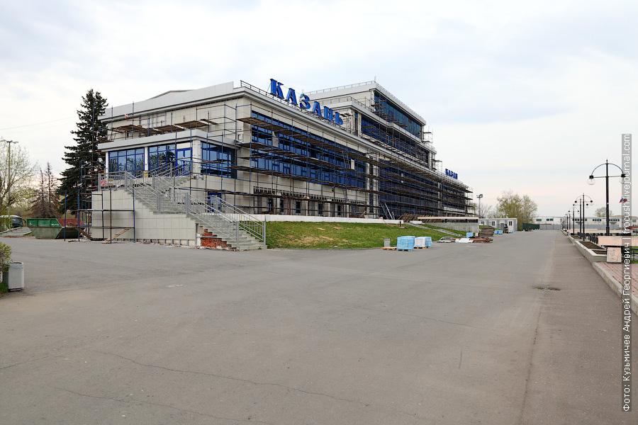 здание речного вокзала Казани 11 мая 2013 года