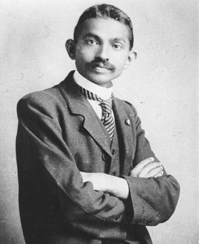Attorney at Law, Mohandas Gandhi in 1893