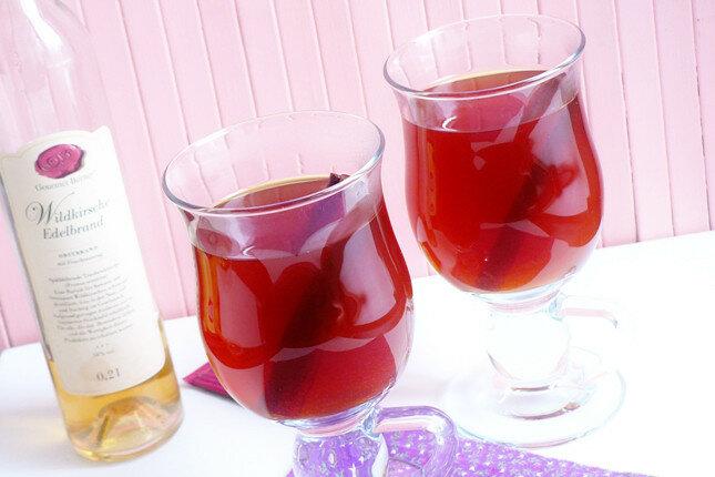 Сбитень с вишневой водкой