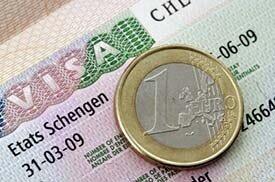 Шенгенская виза и евро
