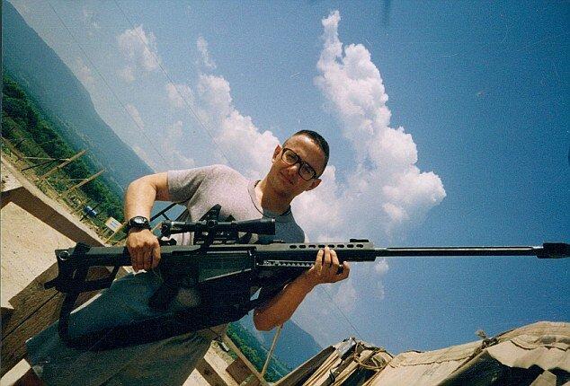 Бывший крутой снайпер стал тёлкой