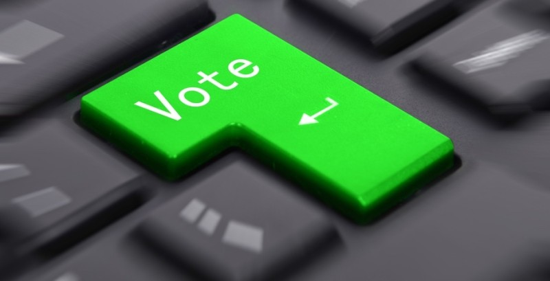 На территории России выборы планируется проводить через Интернет
