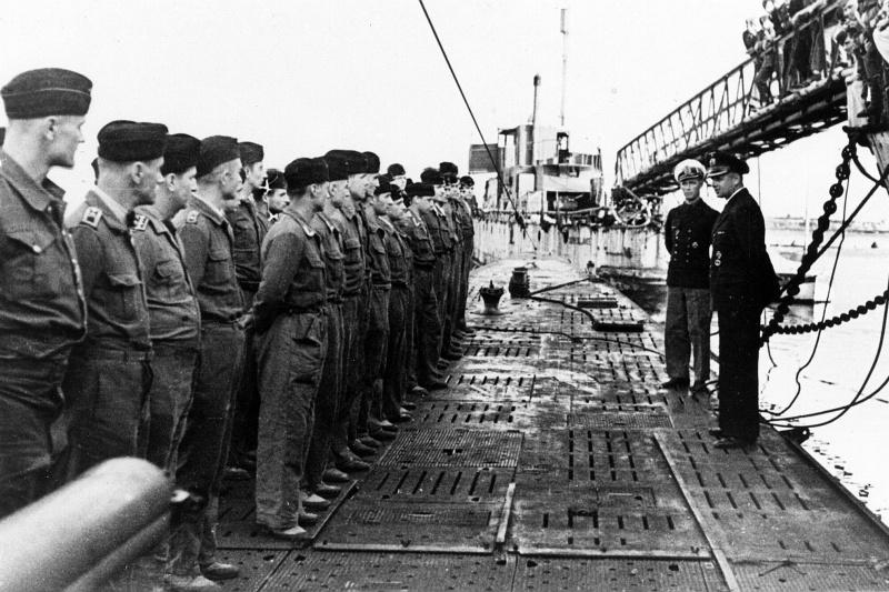 потери немецких подводных лодок во второй мировой войне