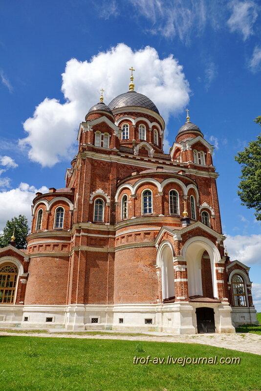Спасо-Бородинский женский монастырь, Собор Владимирской иконы Божьей Матери