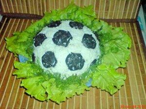 Вариант оформления салата