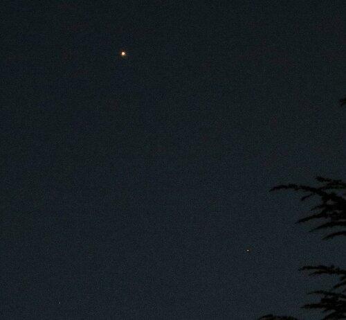 Венера и Антарес