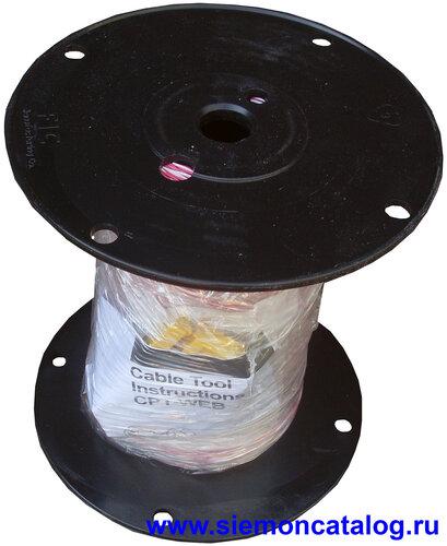 Кроссировочный кабель Siemon CJ5-W1-1000-03  1 пара категория 5 красный