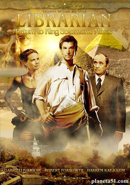 Библиотекарь: Трилогия / The Librarian: Trilogy (2004, 2006, 2008) BDRip-1080p   P