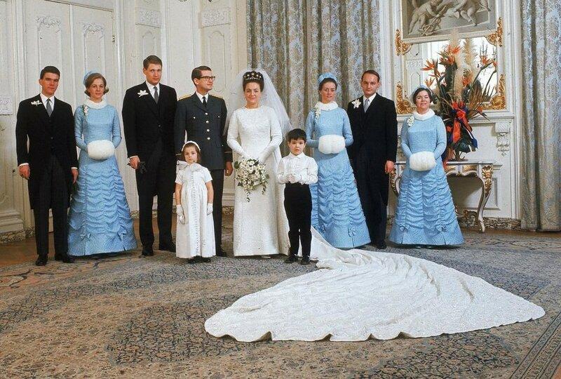 10 januari 1967. Свадьба сестры Маргрет