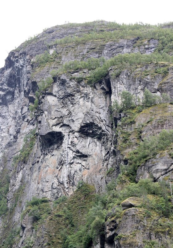 Geirangerfjord, the face of the Troll
