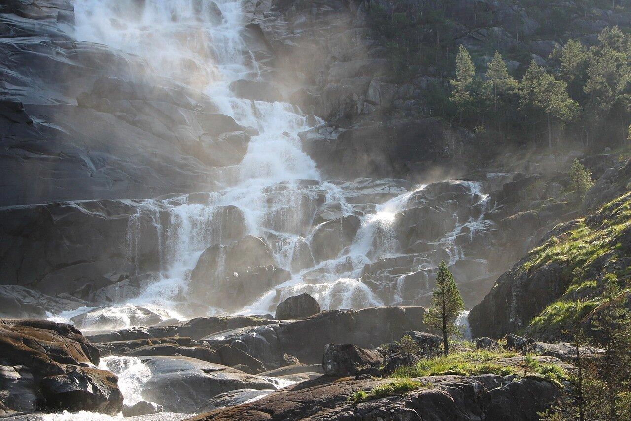 Западная Норвегия, Водопад Лангфоссен