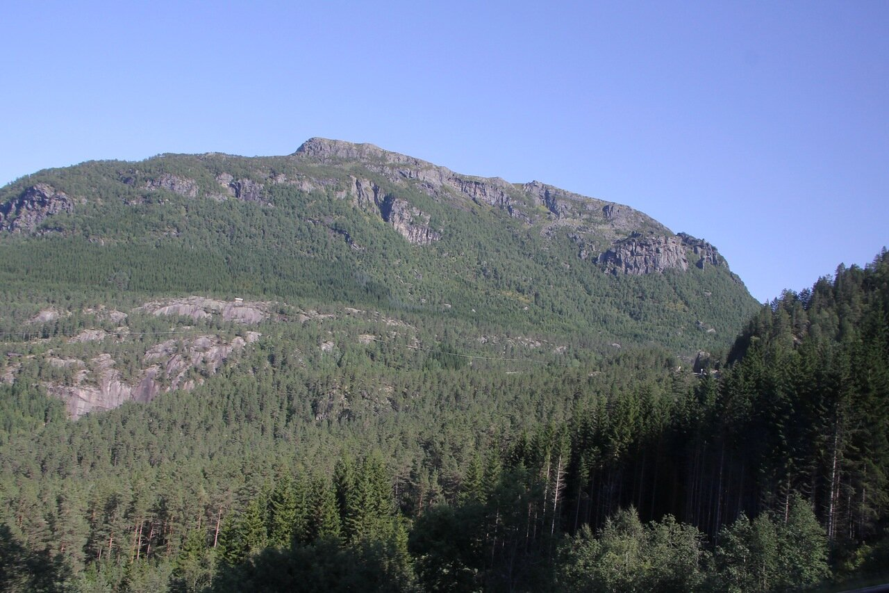West Norway mountain. Mountains Of Western Norway.