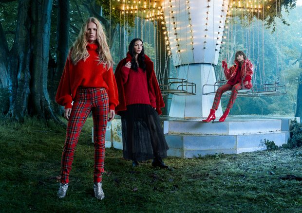 Nicki Minaj + Supermodels Pose in H&M Holiday 2017 Collection