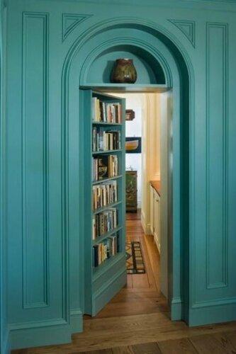 Невидимые межконатные двери