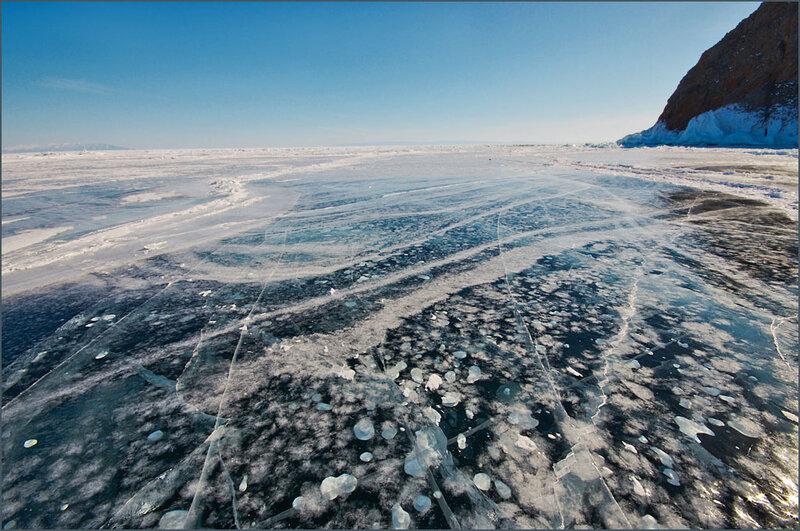 Рисунки льда