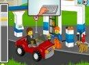 Игра Лего заправщик бензином