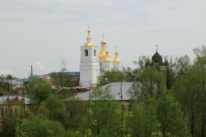Арзамас, Благовещенская церковь и Спасо-Преображенский собор