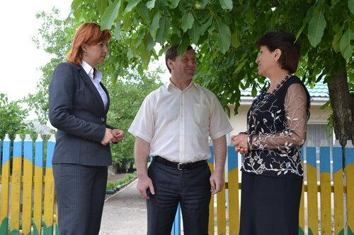 Ко дню защиты детей воспитанники детских садов Копчака получили спортинвентарь