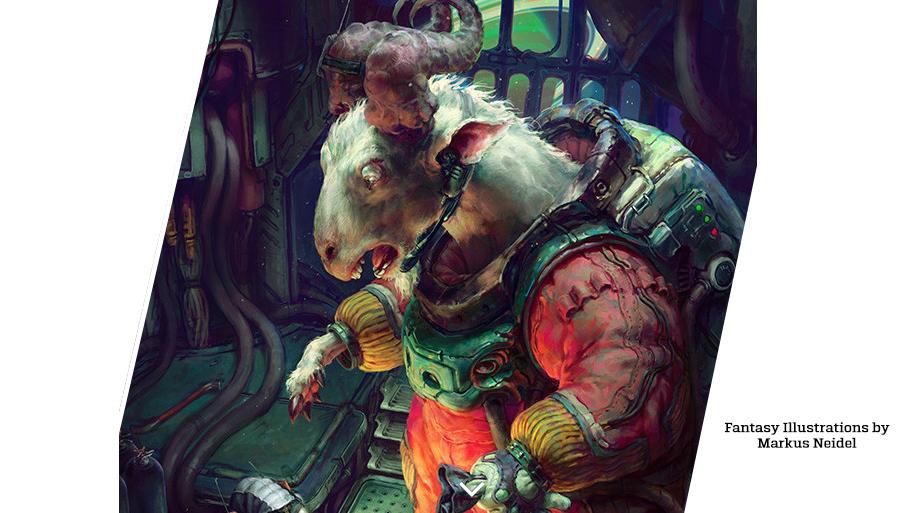 Fantasy Illustrations by Markus Neidel (23 pics)