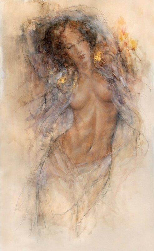 Я соткана из невидимых  миров,  дивной  красотой! Художник Гари Бенфилд (Gary Benfield)