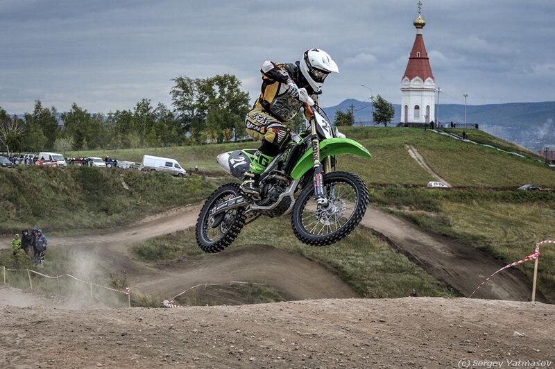 Мотокросс Кубок Красноярья 2013