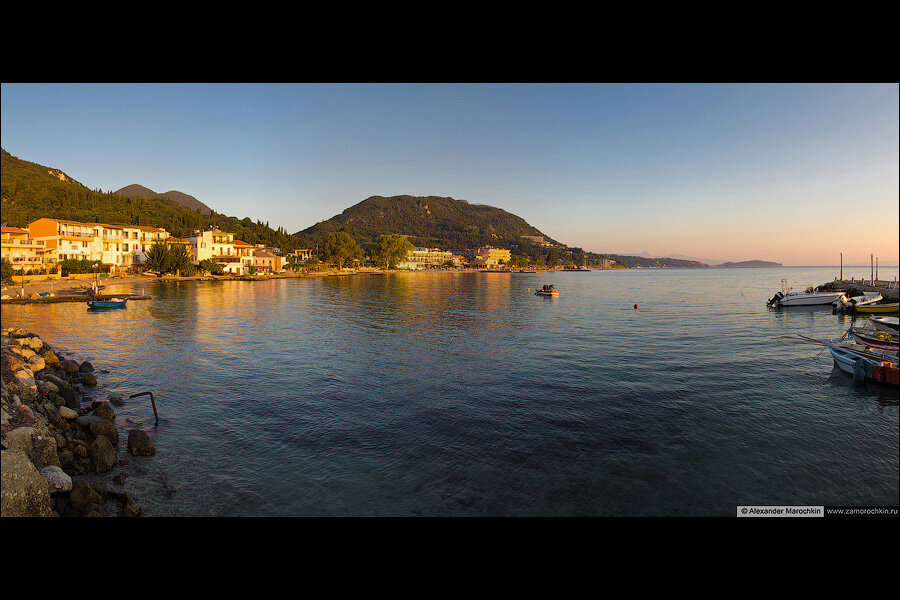 Панорама Беницеса | The panorama of Benitses