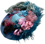 Женская шляпа с пером