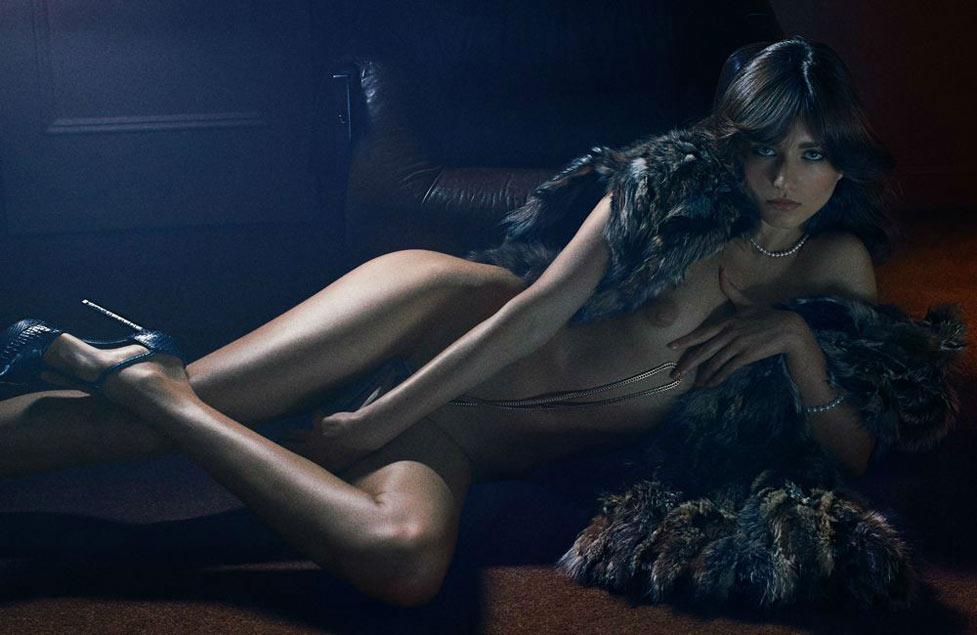 Богини и их сексуальность / Andreea Diaconu - The Goddesses by Fabien Baron