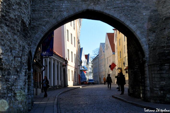 ворота города